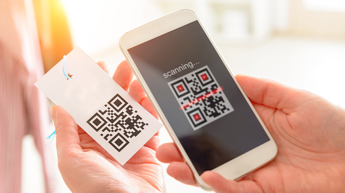 6. QR Code Payments Make a Comeback
