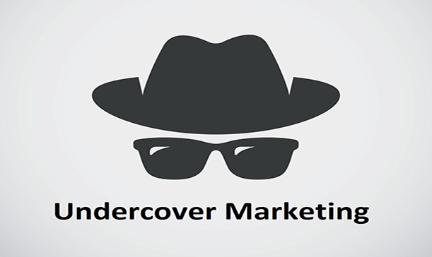 Undercover marketing
