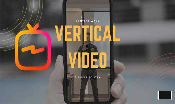 2. Format Your Videos Vertically