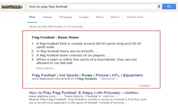 1. Snippets Dominate More Search Clicks